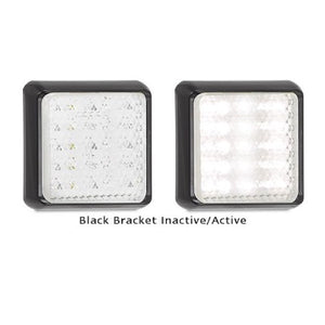 LED Autolamps 125 Series Single Function White Reverse LED Light