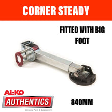 Load image into Gallery viewer, AL-KO CORNER STEADY 840mm DROP WITH BIG FOOT