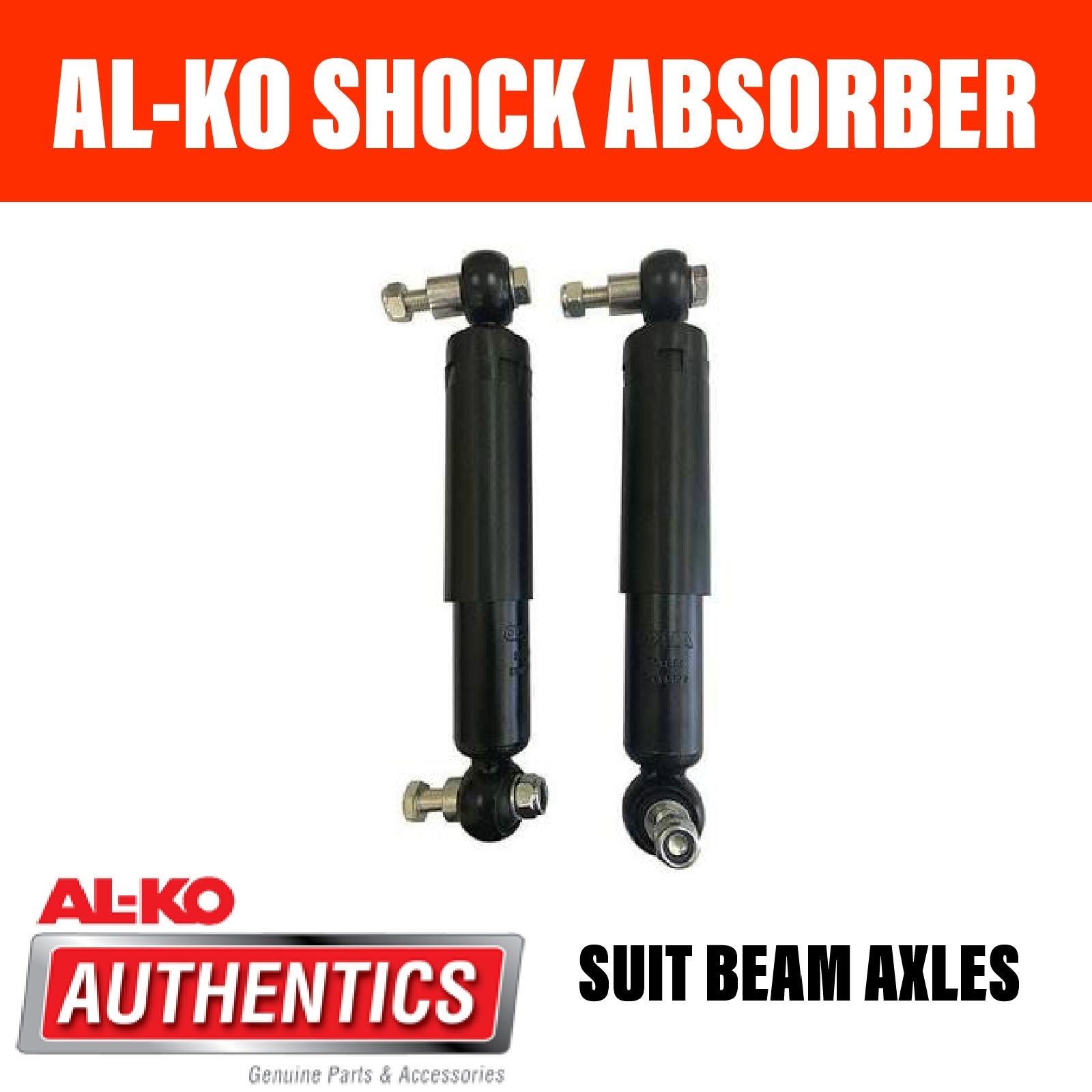 AL-KO SHOCK ABSORBER KIT FOR BEAM AXLES