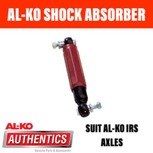 Load image into Gallery viewer, AL-KO OCTAGON SHOCK ABSORBER RED