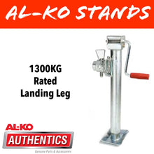 Load image into Gallery viewer, AL-KO 1300KG Rated Landing Leg