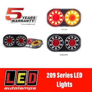 LED AUTOLAMPS 209GARLP2 Boat Trailer Lights