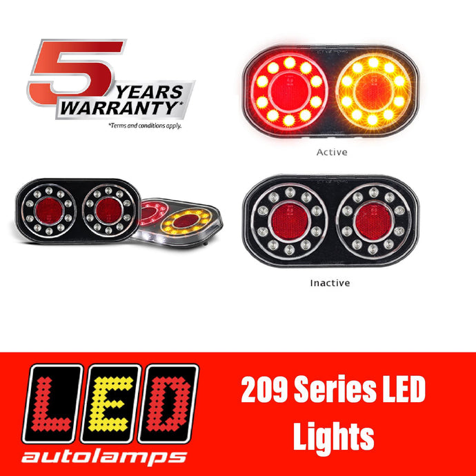 LED AUTOLAMPS BOAT TRAILER LIGHTS - 5 YEAR WARRANTY - 100% WATERPROOF
