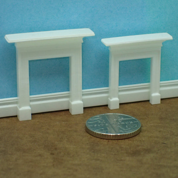 Victorian style mantelpiece, 1/48th scale