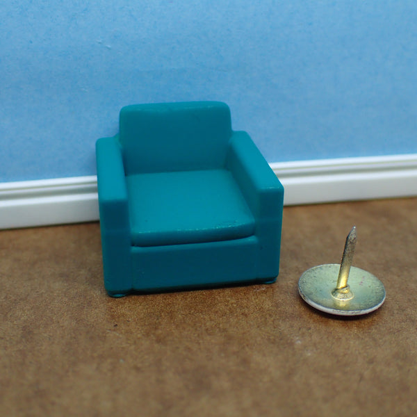 Contemporary armchair, 1/48th scale