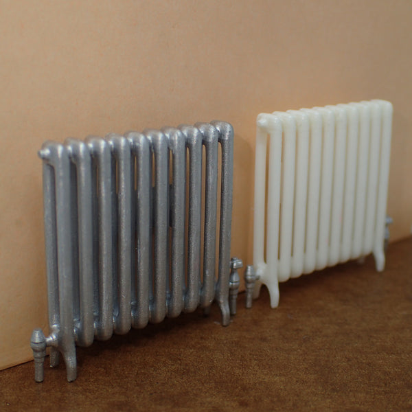 Cast iron radiator, 1/24th scale