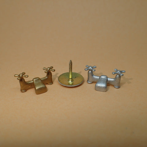 Sink mixer taps, 1/24th scale