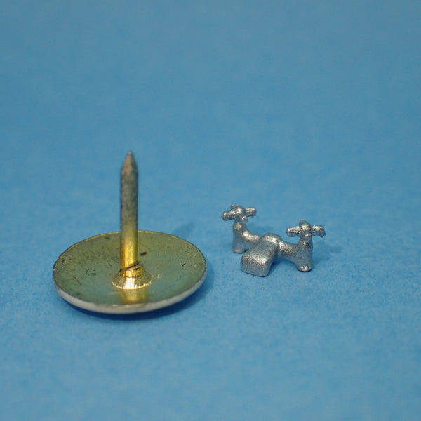 Sink mixer taps, 1/48th scale