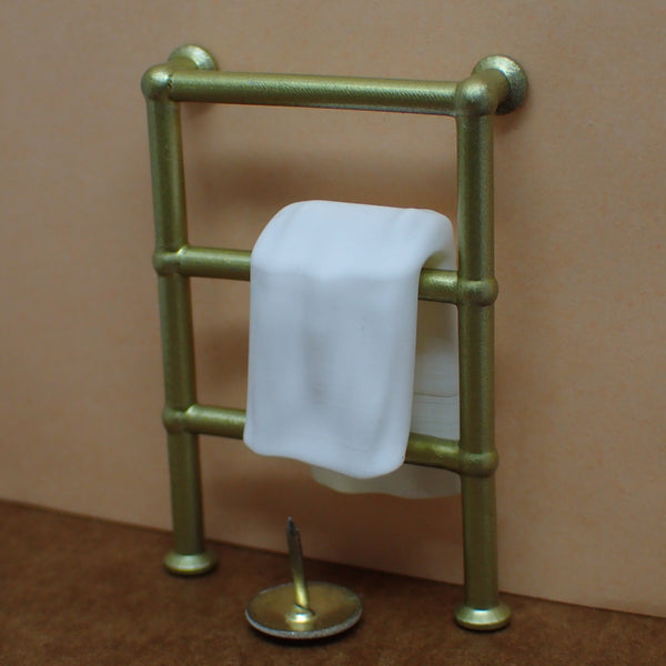 Traditional style towel rail, 1/24th scale