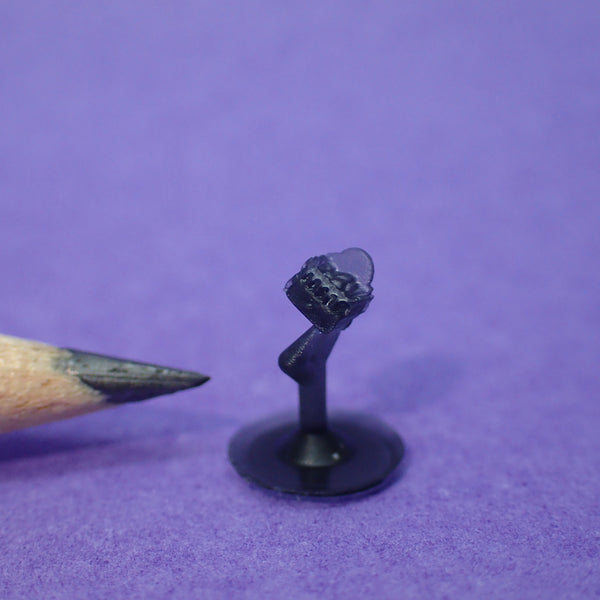 Tiniest fire basket/dog grate, 1/144th scale