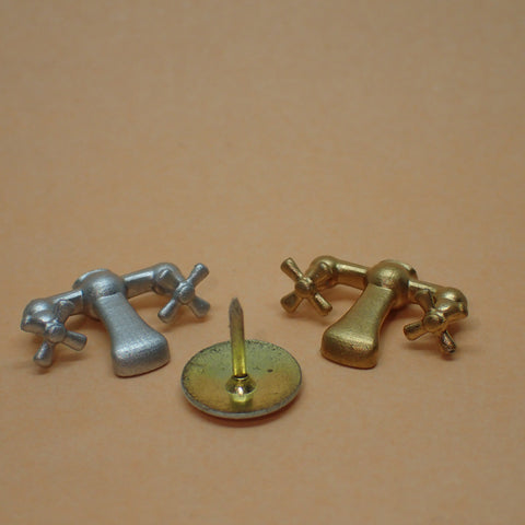 Bath mixer taps, 1/24th scale