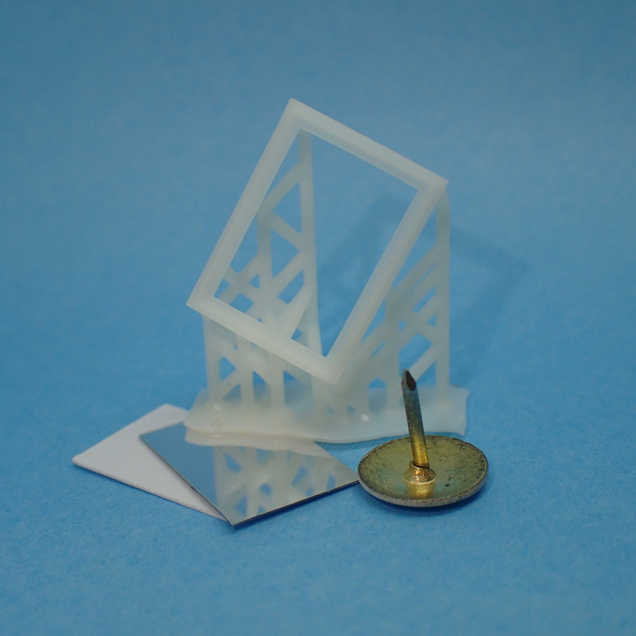 Rectangular mirror, 1/48th scale