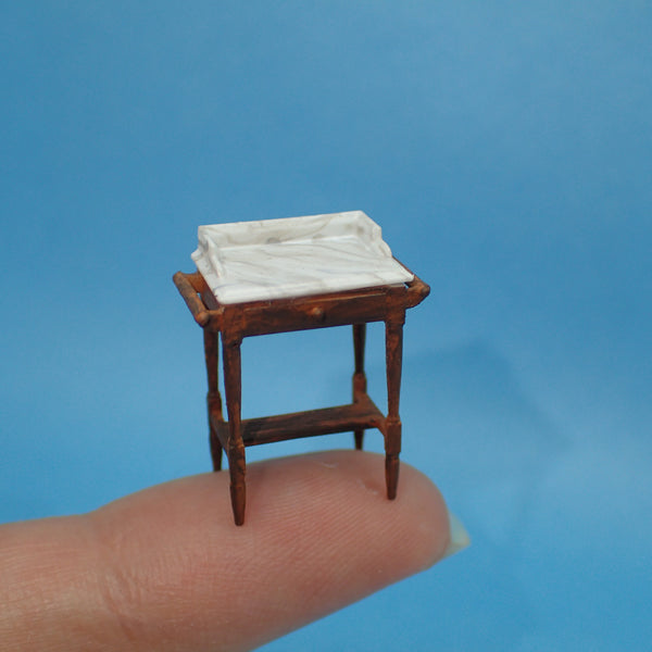 Washstand, 1/48th scale