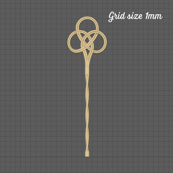 Carpet beater, 1/48th scale