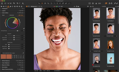 How to Edit Skin Tone in Capture One