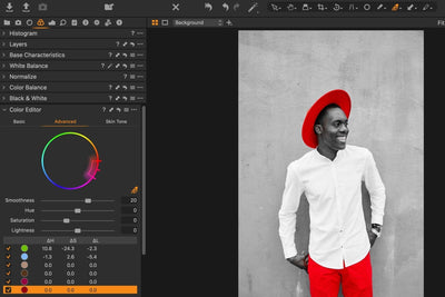 How To Use Luminosity And Color Range Masks In Capture One