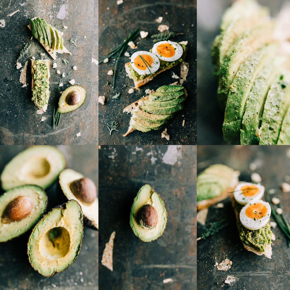 Avocado Food Photography by Christina Quesenberry