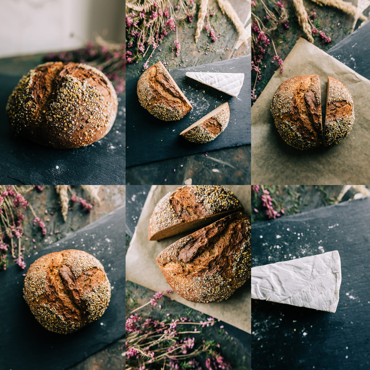 Bread Food Photography by Christina Quesenberry