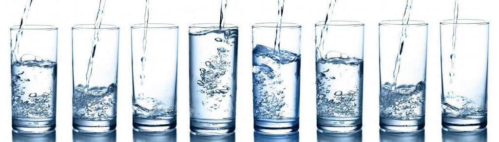 How many ounces make 8 glasses of water