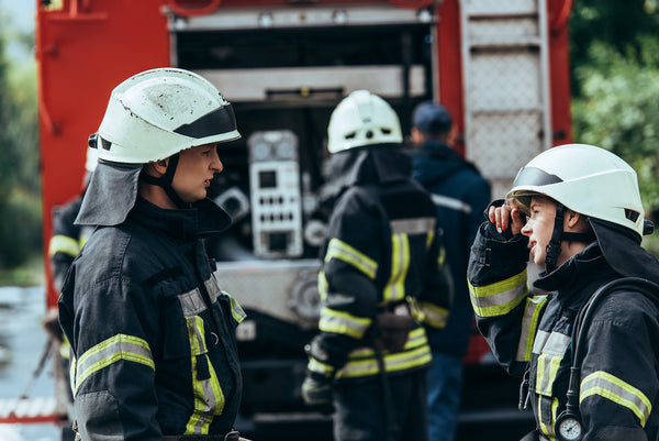 Electrolyte water: a team of firefighters on the job