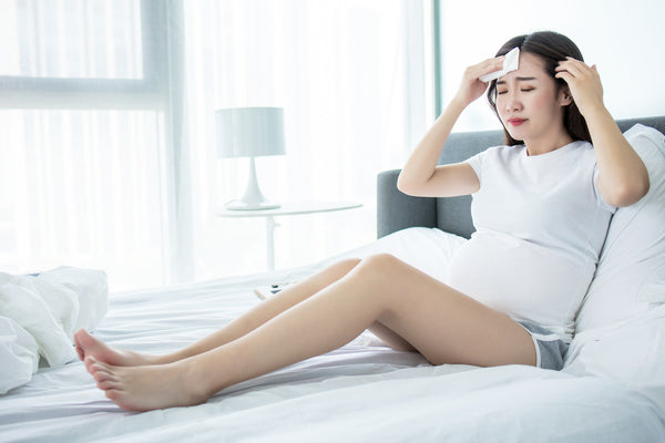 Dizziness during pregnancy: Pregnant lady dehydrated