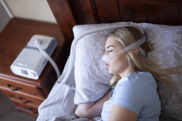 Waking up thirsty: Sleeping on side with CPAP machine