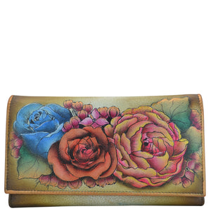 Checkbook Clutch Wallet - 1042
