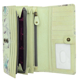 Accordion Flap Wallet - 1095