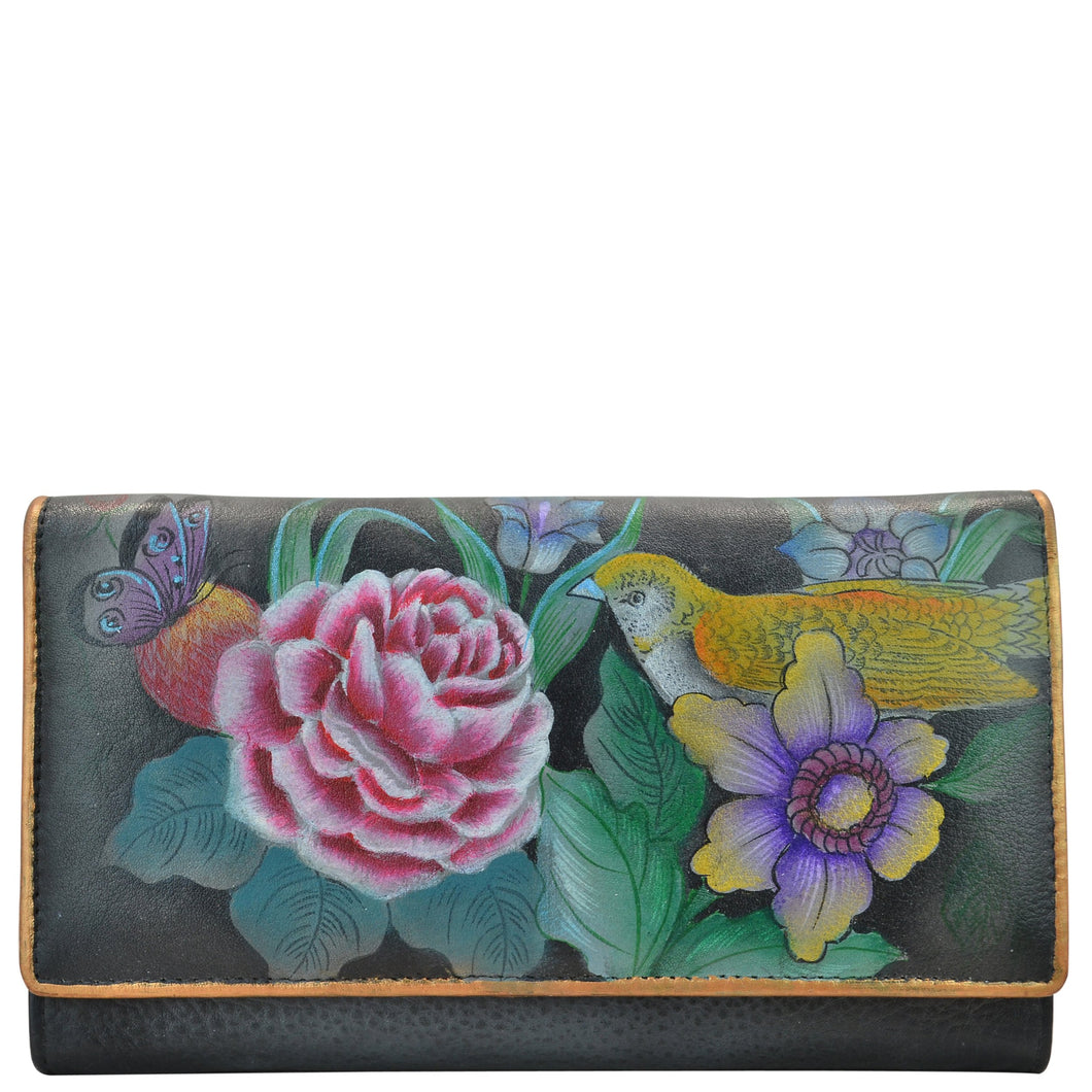 RFID Blocking Two fold French Wallet - 1139