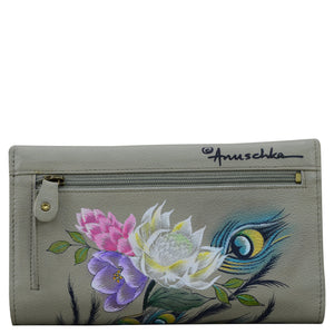 Checkbook Clutch with RFID - 1153