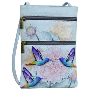 Mini Double Zip Travel Crossbody - 448