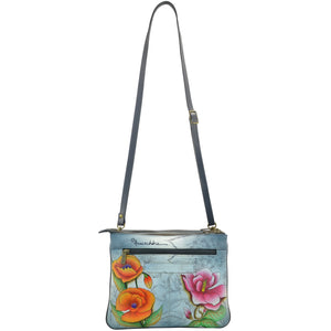 Triple Compartment Crossbody - 570