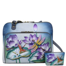 Load image into Gallery viewer, Large All Round Zippered Organiser CrossBody - 617