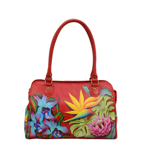 Large Multi Compartment Shoulder Bag - 646