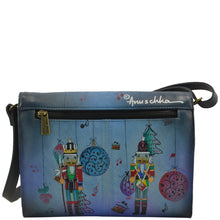 Load image into Gallery viewer, Multi Compartment Flap Crossbody - 7292