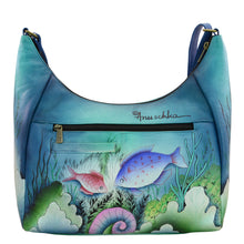 Load image into Gallery viewer, Large Crossbody Hobo - 7300