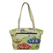 Load image into Gallery viewer, East-West Organizer Tote With Rfid Protection - 7315