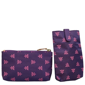 Triple Compartment Large Satchel - 652