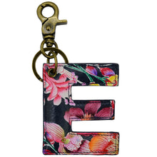 Load image into Gallery viewer, Painted Leather Bag Charm - K000E