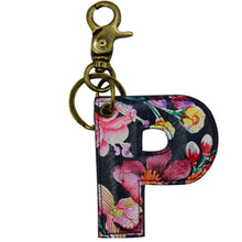 Load image into Gallery viewer, Painted Leather Bag Charm - K000P
