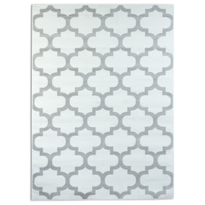 Trendy 5309 White & Silver Area Rug
