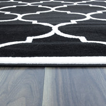 Load image into Gallery viewer, Trendy 5307 Black & Ivory Area Rug