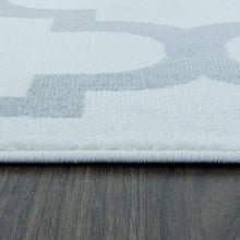 Load image into Gallery viewer, Trendy 5309 White & Silver Area Rug