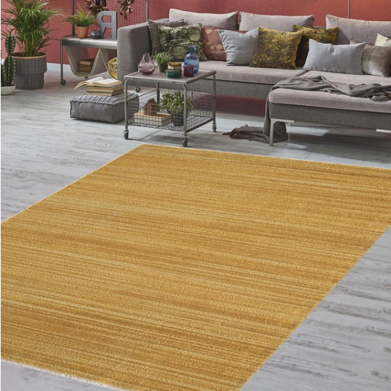 Unique Gold Rug