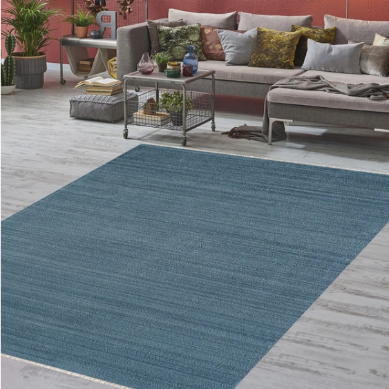Unique Blue Rug