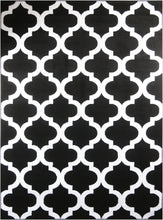 Load image into Gallery viewer, Trendy 5309 Black & Ivory Area Rug