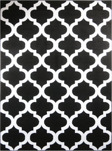 Trendy 5309 Black & Ivory Area Rug