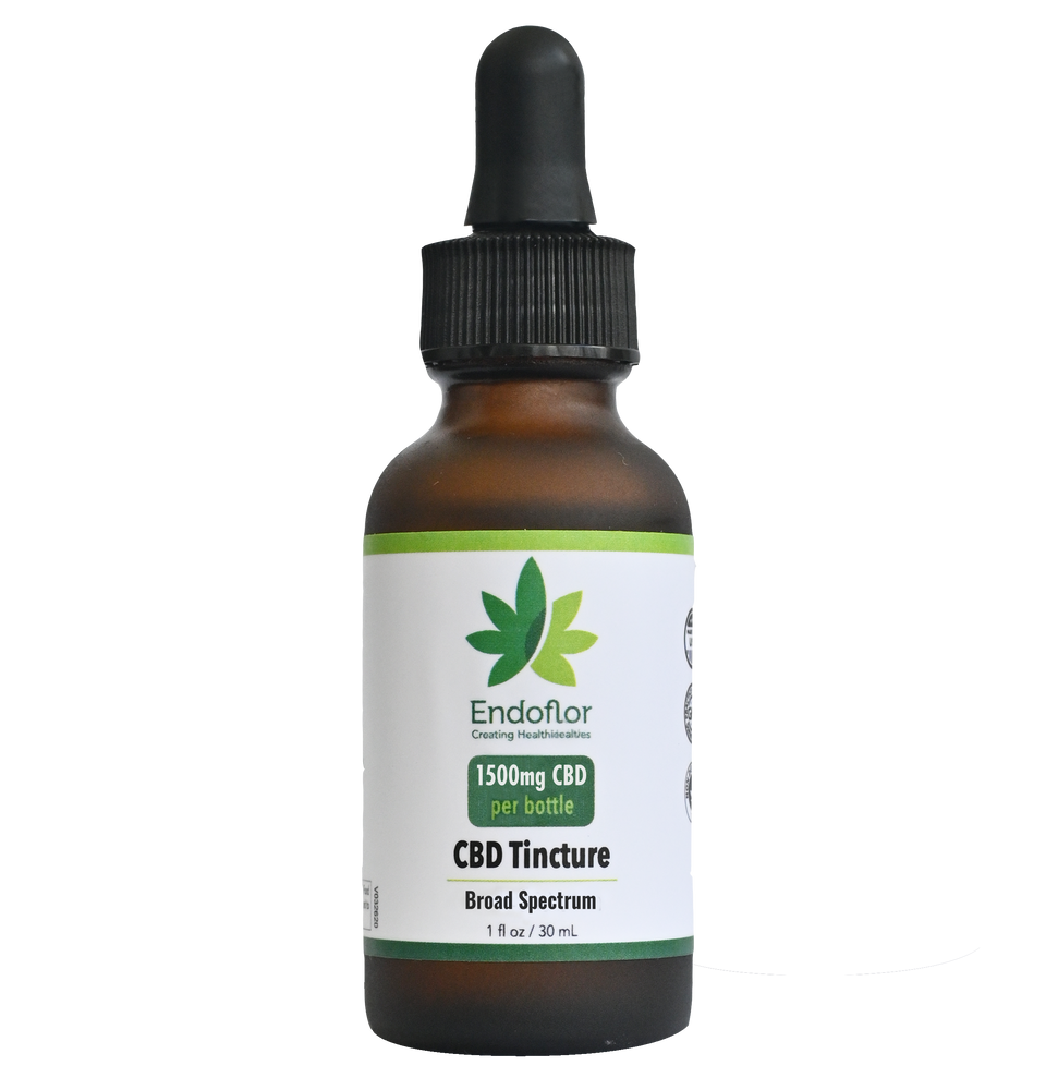 Broad Spectrum CBD Oil 1500mg (Unflavored)