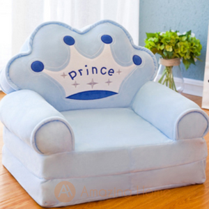 Prince 2 in 1 Kids Sofa Foldable Bed