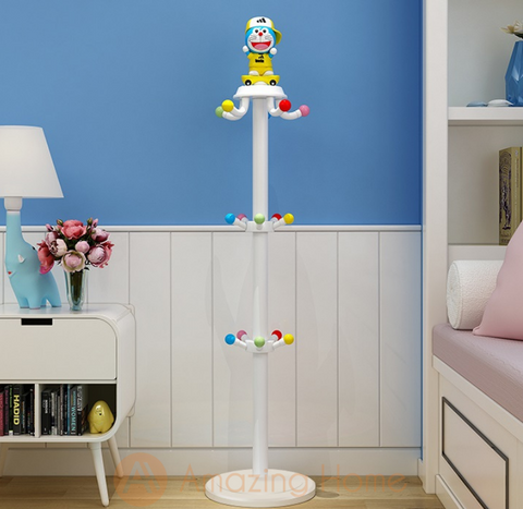 Snow Kids Clothes Hanger Rack Tree Stand for Boy